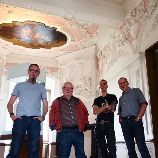 Lothar Bottcher, Willi Pistor, Samuel Weisenborn, Wolfgang Hofmann